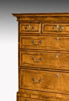 Handsome Mid 18th Century Walnut Chest on Chest (2 of 6)