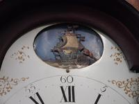 George III Inlaid Mahogany Longcase Clock by Charles Campbell, Boness (6 of 10)