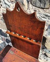 18th Century Oak Spoon Rack & Spoons (5 of 9)