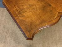 Waring & Gillow Burr Walnut Serpentine Chest of Drawers (12 of 15)