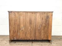 Antique Pale Oak Chest of Drawers (10 of 10)