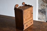 Small Rustic Antique Oak Wall Cupboard (2 of 10)
