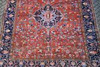 Antique Heriz Carpet 349x265cm (10 of 10)