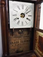 Antique American Ogee Wall Clock – Weight Driven Wall / Mantel Clock (2 of 12)