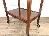 Antique Mahogany Two Tier Drinks Trolley or Tea Trolley (4 of 11)