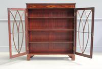 19th Century Mahogany Glazed Display Cabinet (4 of 7)