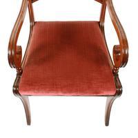 Georgian Mahogany Sabre Leg Chair (4 of 8)