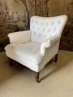 Large Victorian Country House Armchair (2 of 5)