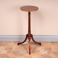 Good Quality Marquetry Mahogany Wine Table (2 of 8)