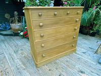 Beautiful Old Pine Chest Of Six Drawers / Sideboard (2 of 8)