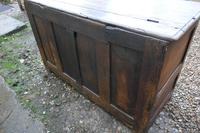 18th Century Country Oak Coffer (7 of 9)