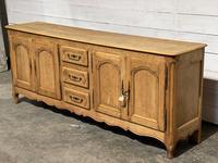 French Bleached Oak Sideboard or Dresser Base (4 of 23)