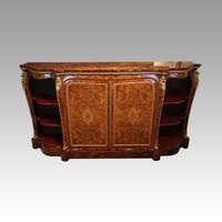 Victorian Inlaid Walnut Side Cabinet (3 of 17)