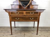Edwardian Inlaid Mahogany Dressing Table (3 of 10)