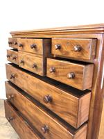 Large Antique Mahogany Chest of Drawers by Maple & Co (12 of 13)