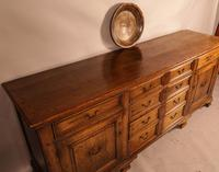Superb Georgian Oak Serving Dresser Large (19 of 20)