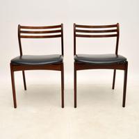 Pair of Danish Rosewood Chairs by P.E. Jørgensen for Farso Stolefabrik (7 of 12)