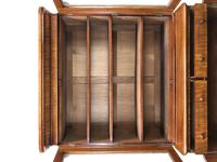 Antique Mahogany Two Stage Bookcase (7 of 10)