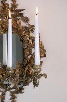 19th Century French Brass Girandole & Grape Vine Sconces (7 of 10)