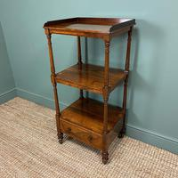 Spectacular Regency Gillows Rosewood Antique Whatnot (4 of 7)
