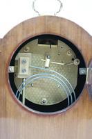 English Edwardian Mahogany Mantel Clock by Astral (8 of 8)