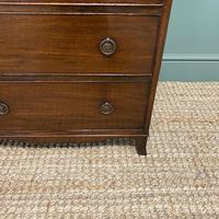 Edwardian Mahogany Small Antique Chest of Drawers (2 of 6)
