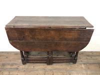 Early 18th Century Oak Gateleg Table (10 of 11)