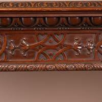 Superb Quality Mahogany Chippendale Design Writing Table (9 of 23)