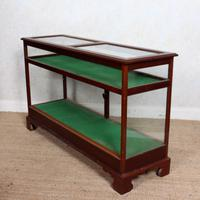 Shop Display Cabinet Glazed Mahogany 19th Century Glass (7 of 8)