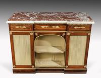 Regency Period Goncalo Alves Side Cabinet of Slightly Inverted Breakfront Form (3 of 8)