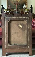 Large Gothic Oak Framed 19th Century Religious Old Master Oil Painting for TLC (13 of 14)