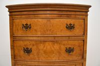 Antique  Georgian Style Burr Walnut Chest on Chest (7 of 11)