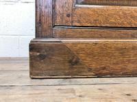 Antique Panelled Oak Dresser Base (6 of 10)