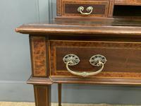 Inlaid Mahogany & Amboyna Writing Desk (5 of 19)