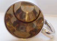 Rare Pair of Hallmarked Solid Silver Tankard Christening Mug (8 of 11)