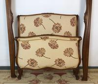 French Pair of Roll End Single Bed Frames with Slatted Bases (7 of 17)