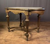 Napoleon III Giltwood Library or Sofa Table (3 of 13)