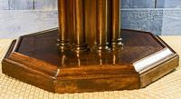 19th Century Mahogany Library Table. Drum or Rent Table (5 of 9)