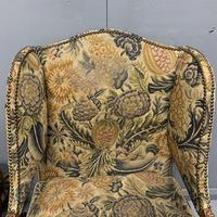 Pair of French Wing Armchairs (6 of 9)