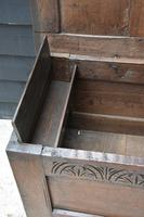 Handsome 17th Century Small Proportioned Oak Coffer Chest c.1680 (10 of 13)