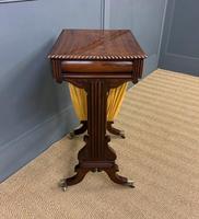 Regency Period Rosewood Work Table (8 of 15)