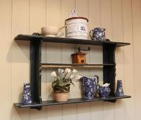 Rustic French Painted Wall Shelves (5 of 5)