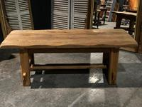 Chunky Bleached Oak Farmhouse Dining Table (6 of 12)