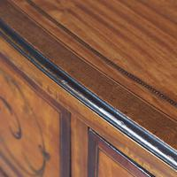 Inlaid Satinwood Chest of Drawers by S & H Jewells (7 of 14)