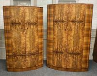 Burr Walnut Art Deco Double Wardrobe (12 of 12)