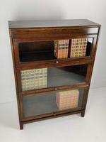 Oak Stacking Bookcase - Globe Wernicke