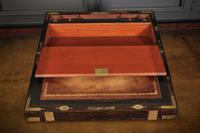 Rare Victorian Coromandel Writing Slope (11 of 19)