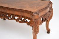 Antique Burr Walnut Coffee Table (5 of 9)
