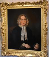 Large Pair of Victorian Oil Portraits (4 of 8)