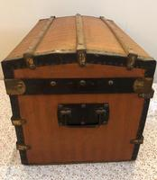 Dome Top Miniature Travelling Trunk (4 of 7)